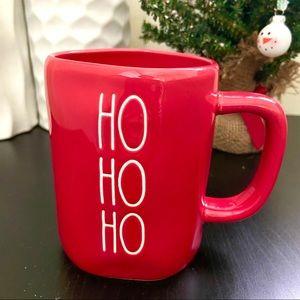 Rae Dunn 'HO HO HO' Christmas Red Mug